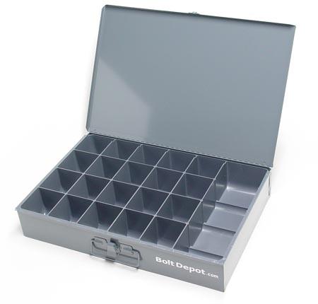 Empty Assortment Bins Amp Accessories Large Metal Trays